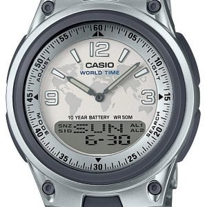 Casio Aw-80d-7a2ves Kello Valkoinen / Teräs