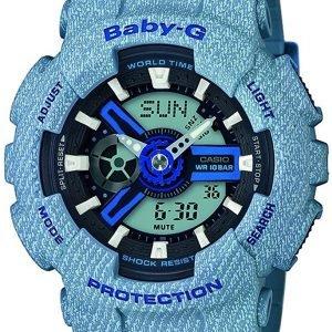 Casio Baby-G Ba-110de-2a2er Kello Lcd / Muovi