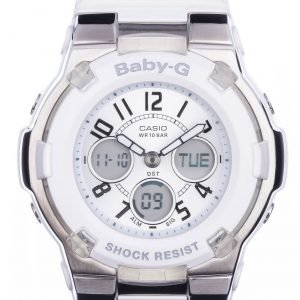 Casio Baby-G Bga-110-7ber Kello Valkoinen / Muovi