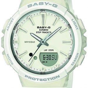 Casio Baby-G Bgs-100-7a1er Kello Valkoinen / Muovi