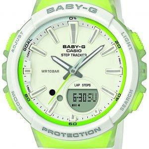 Casio Baby-G Bgs-100-7a2er Kello Valkoinen / Muovi