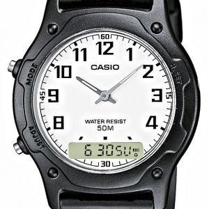 Casio Casio Collection Aw-49h-7bvef Kello Valkoinen / Muovi
