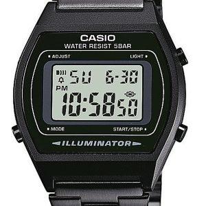 Casio Casio Collection B640wb-1aef Kello Musta / Teräs