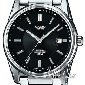 Casio Casio Collection Bem-111d-1avef Kello Musta / Teräs