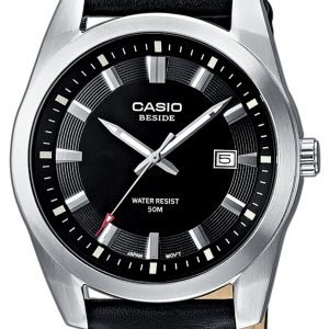 Casio Casio Collection Bem-116l-1avef Kello Musta / Nahka