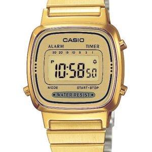 Casio Casio Collection La670wega-9ef Kello Kullansävytetty