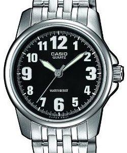 Casio Casio Collection Ltp-1260pd-1bef Kello Musta / Teräs