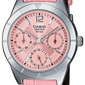 Casio Casio Collection Ltp-2069l-4avef Kello Pinkki / Nahka