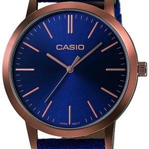 Casio Casio Collection Ltp-E118rl-2aef Kello Sininen / Nahka