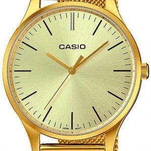 Casio Casio Collection Ltp-E140g-9aef Kello Samppanja / Kullansävytetty
