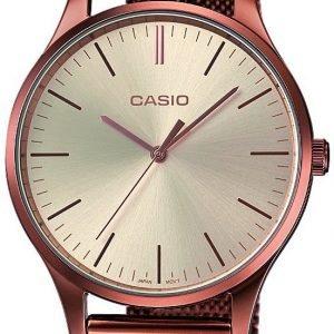 Casio Casio Collection Ltp-E140r-9aef Kello Kerma / Punakultasävyinen