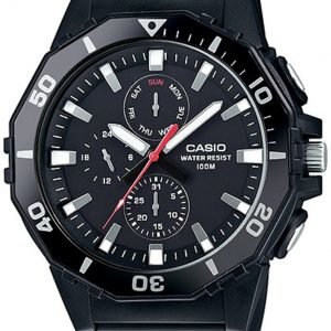 Casio Casio Collection Mrw-400h-1avef Kello Musta / Muovi