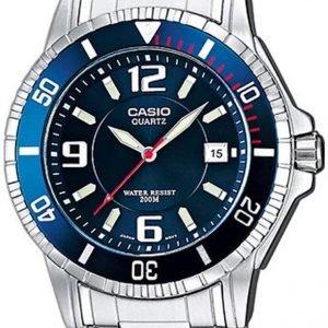 Casio Casio Collection Mtd-1053d-2aves Kello Sininen / Teräs