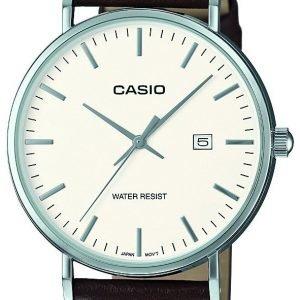 Casio Casio Collection Mth-1060l-7aer Kello Valkoinen / Nahka