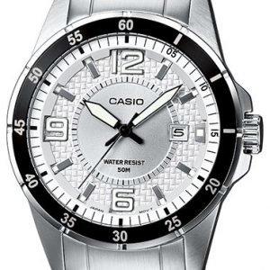 Casio Casio Collection Mtp-1291d-7avef Kello Hopea / Teräs