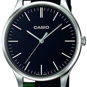 Casio Casio Collection Mtp-E133l-1eef Kello Musta / Nahka