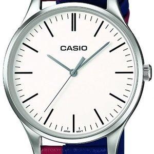 Casio Casio Collection Mtp-E133l-2eef Kello Valkoinen / Nahka