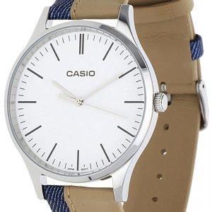 Casio Casio Collection Mtp-E133l-7eef Kello Valkoinen / Nahka