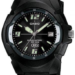 Casio Casio Collection Mw-600f-1aver Kello Musta / Muovi