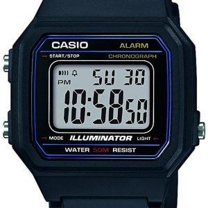 Casio Casio Collection W-217h-1avef Kello Lcd / Muovi
