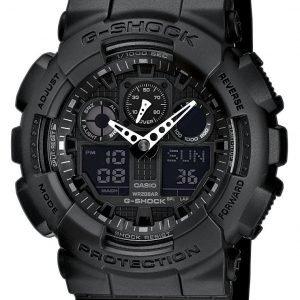 Casio G-Shock Ga-100-1a1er Kello Musta / Muovi