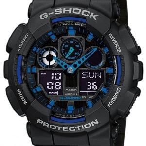 Casio G-Shock Ga-100-1a2er Kello Lcd / Muovi