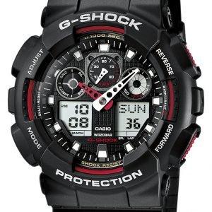 Casio G-Shock Ga-100-1a4er Kello Musta / Muovi