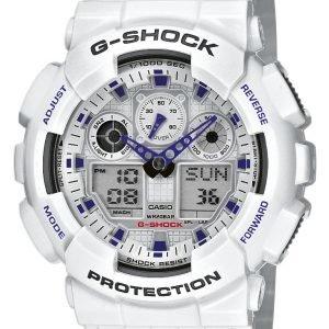 Casio G-Shock Ga-100a-7aer Kello Hopea / Muovi