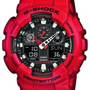 Casio G-Shock Ga-100b-4aer Kello Musta / Muovi