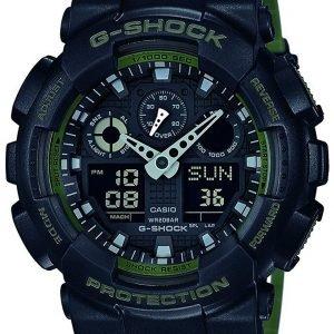 Casio G-Shock Ga-100l-1aer Kello Musta / Muovi