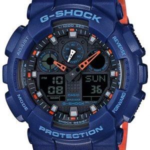 Casio G-Shock Ga-100l-2aer Kello Musta / Muovi