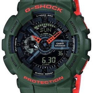 Casio G-Shock Ga-110ln-3aer Kello Lcd / Muovi