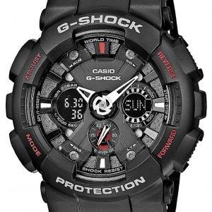 Casio G-Shock Ga-120-1aer Kello Musta / Muovi