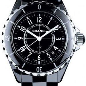 Chanel J12 H0682 Kello Musta / Keraaminen