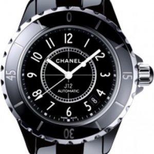 Chanel J12 H0685 Kello Musta / Keraaminen