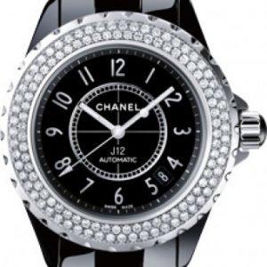 Chanel J12 H0950 Kello Musta / Keraaminen