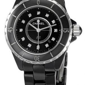 Chanel J12 H1625 Kello Musta / Keraaminen