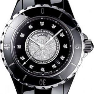 Chanel J12 H1757 Kello Musta / Keraaminen
