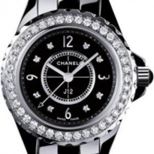 Chanel J12 H2571 Kello Musta / Keraaminen