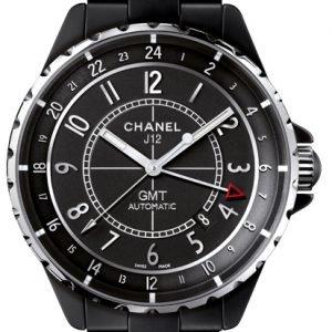Chanel J12 H3101 Kello Musta / Keraaminen