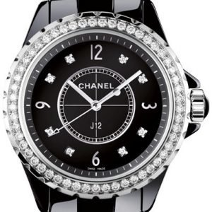 Chanel J12 H3108 Kello Musta / Keraaminen