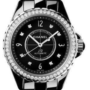 Chanel J12 H3109 Kello Musta / Keraaminen