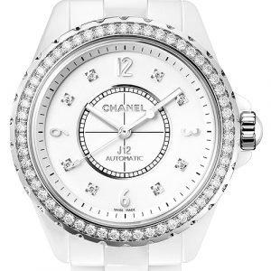 Chanel J12 H3111 Kello Valkoinen / Keraaminen