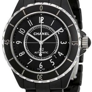 Chanel J12 H3131 Kello Musta / Keraaminen