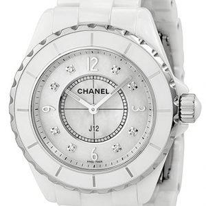 Chanel J12 H3214 Kello Valkoinen / Keraaminen