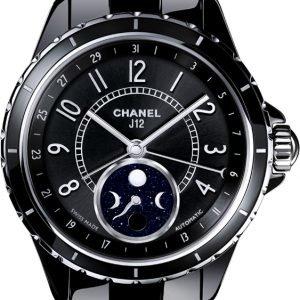 Chanel J12 H3406 Kello Musta / Keraaminen