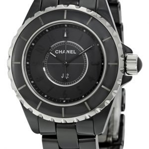 Chanel J12 H3828 Kello Musta / Keraaminen