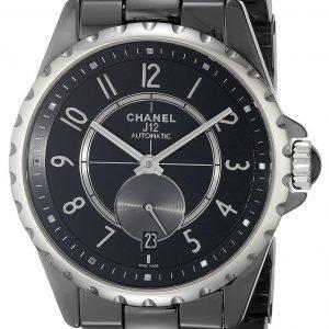 Chanel J12 H3836 Kello Musta / Keraaminen