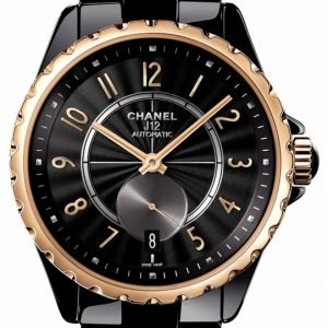 Chanel J12 H3838 Kello Musta / Keraaminen