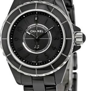 Chanel J12 H4196 Kello Musta / Keraaminen